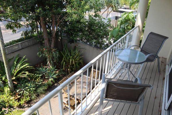 Moondarah No 7 Master Bedroom Balcony Overlooking Courtyard