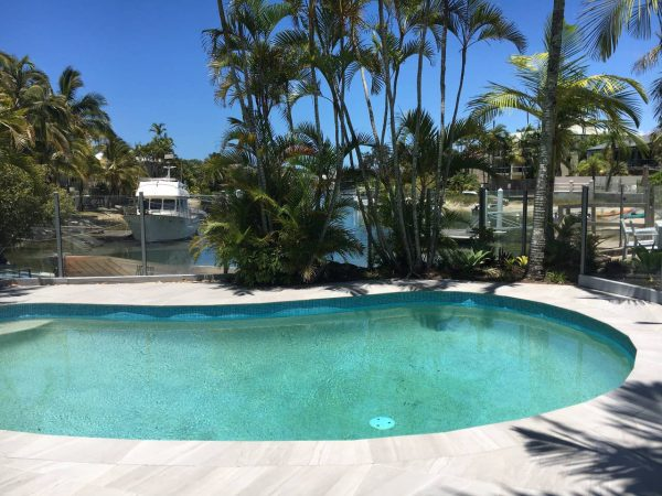 Noosa Terrace Communal Pool With View To Canal