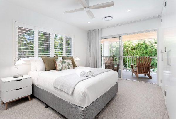27 Dwyer Street Upstairs Bedroom With Balcony