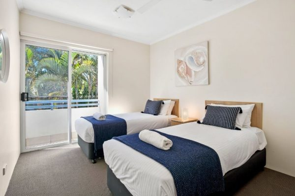 Noosa Riviera Apt 10 Bed 2nd Bedroom