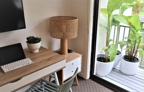 Noosa Terrace On The River 2nd Bedroom Desk Area