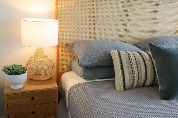 Noosa Terrace On The River Master Bedroom Bed