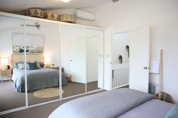 Noosa Terrace On The River Master Bedroom
